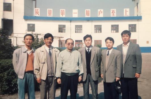 时任中国人民解放军第二炮兵罗东进政委来公司视察工作。